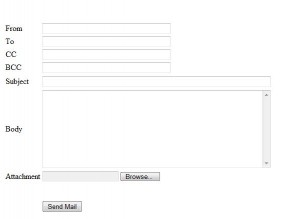 UI for email
