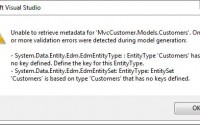 Entity Type Has No Key Defined Errors in Entity Framework