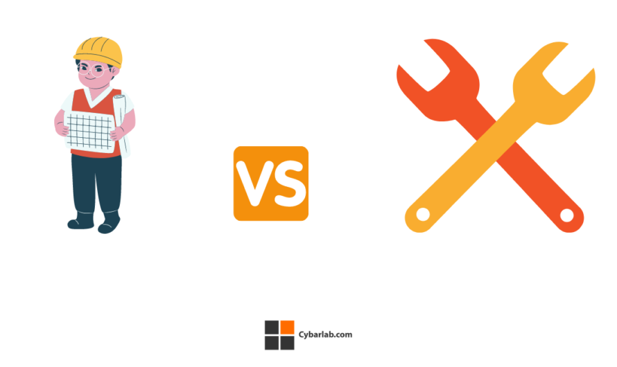 Difference between a software architect and a software engineer